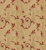 Presto Red & Gold Polyester 84 x 46 Inch Lining Door Curtain