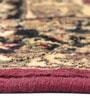 Red Viscose Ethnic Rectangular Area Rug by Presto