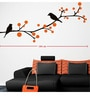 Wall Stickers Beautiful Black Birds on Tree Branches by Print Mantras