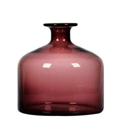 vip image  sc 1 st  Pepperfry & Buy Purple Glass Handmade Flower Vase By Casamotion Online - Glass ...