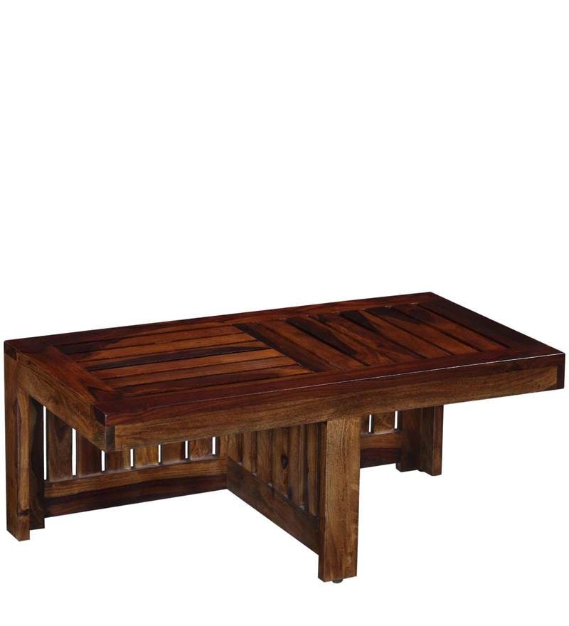 Click to Zoom In Out. Buy Pullman Sheesham Wood Coffee Table Set in Provincial Teak