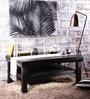 Grover Slatted Shelf Coffee Table in Espresso Walnut Finish by Woodsworth