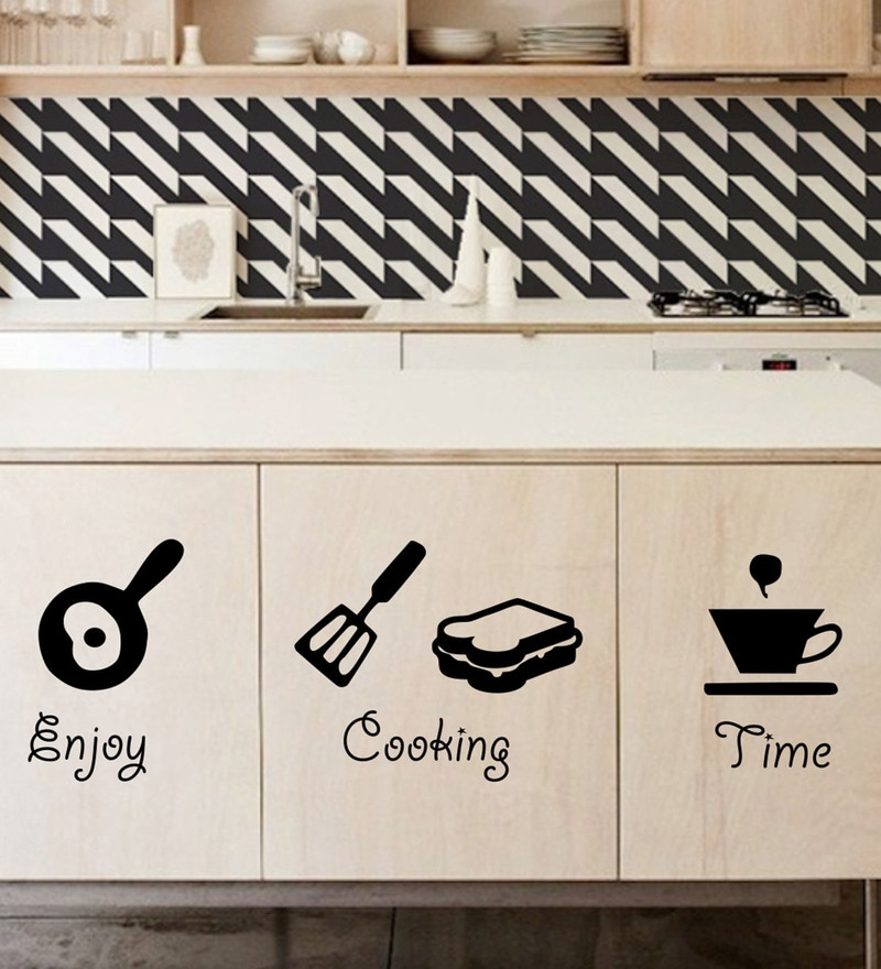 PVC Vinyl Kitchen Weapons Wall Sticker by Decor Kafe