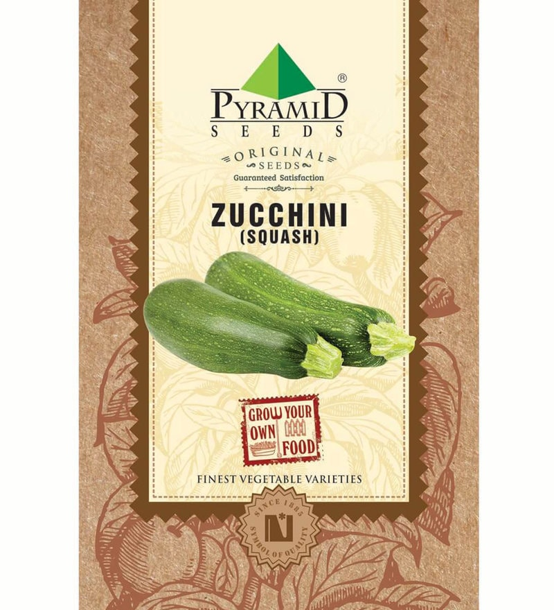 Zucchini (Squash) Seeds by Pyramid Seeds