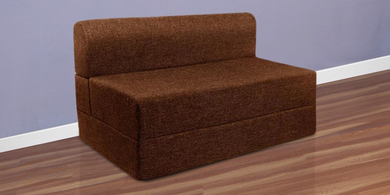Queen Size Sofa Cum Bed in Brown Colour (FREE Pillow) by Springtek Ortho Coir