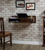 Freemont Wall Mount Study Table in Provincial Teak Finish by Woodsworth
