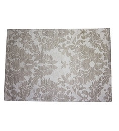 R Home Table Placemats Beige Cotton-Set Of 6