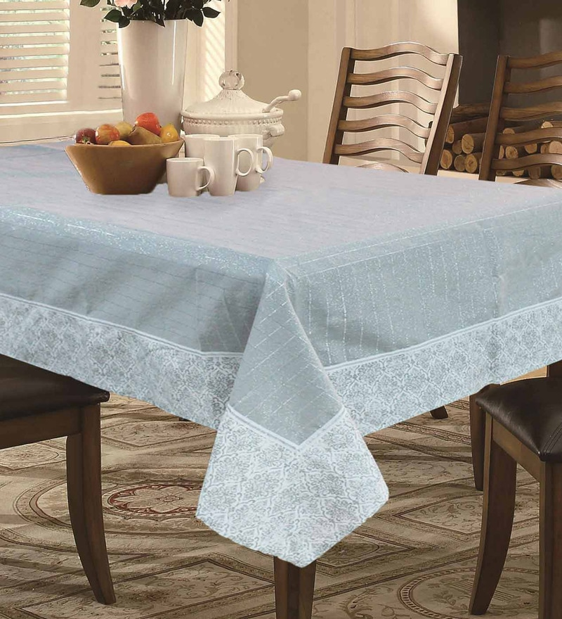 R Home Grey Cotton Table Linen