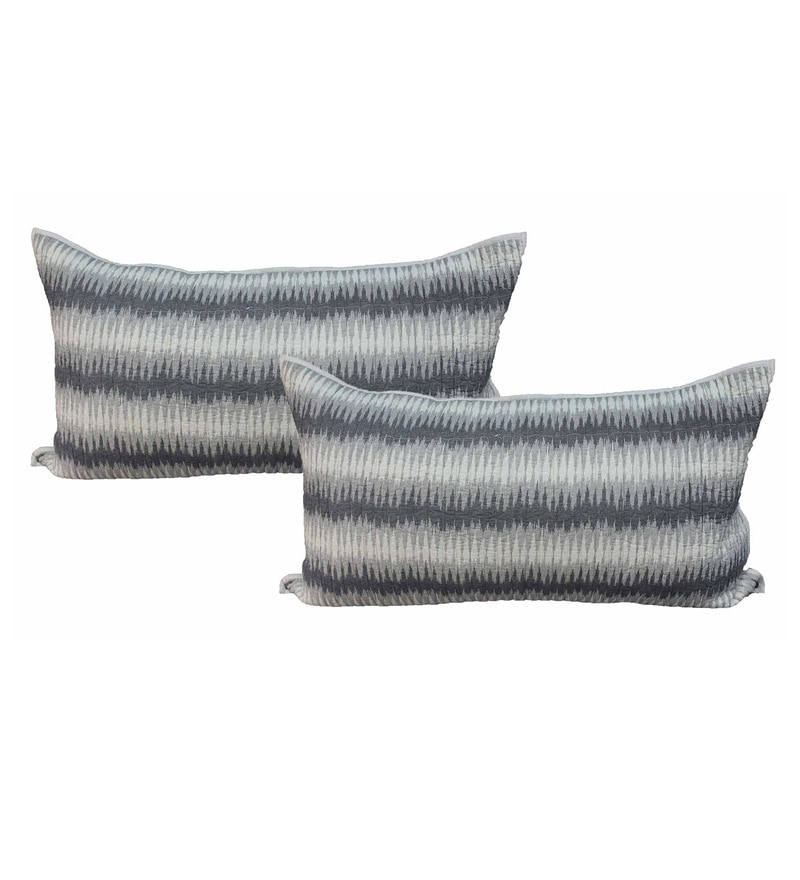 R Home Multicolour Cotton 20 x 36 Inch Pillow Cover Set (2 Pc) Pillow Covers - Set of 2