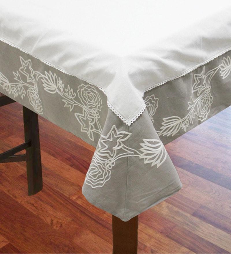 R Home Multicolour Cotton Table Cover