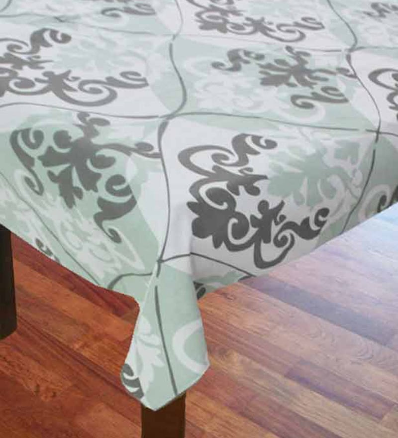 R Home Printed Multicolour Cotton Table Cover