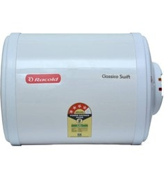 Racold Classico Swift 10H Storage Water Heater, Horizontal Mount, 3 KW, 10 Ltr, 5* Rating