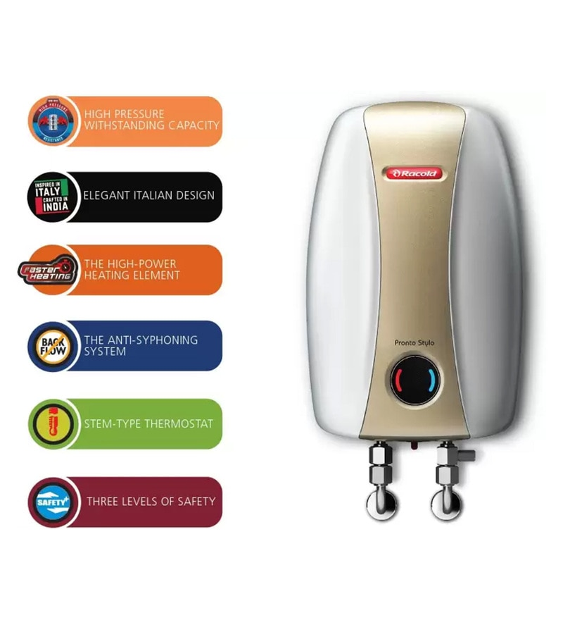 4500W 3 Ltr Instant Water Heater by Racold