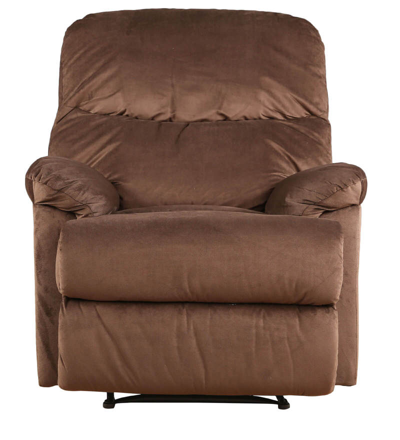 Buy Radcliffe One Seater Manual Recliner Sofa in Brown Colour by HomeTown Online - One Seater Recliners - Recliners - Pepperfry  sc 1 st  Pepperfry : one seater recliner - islam-shia.org