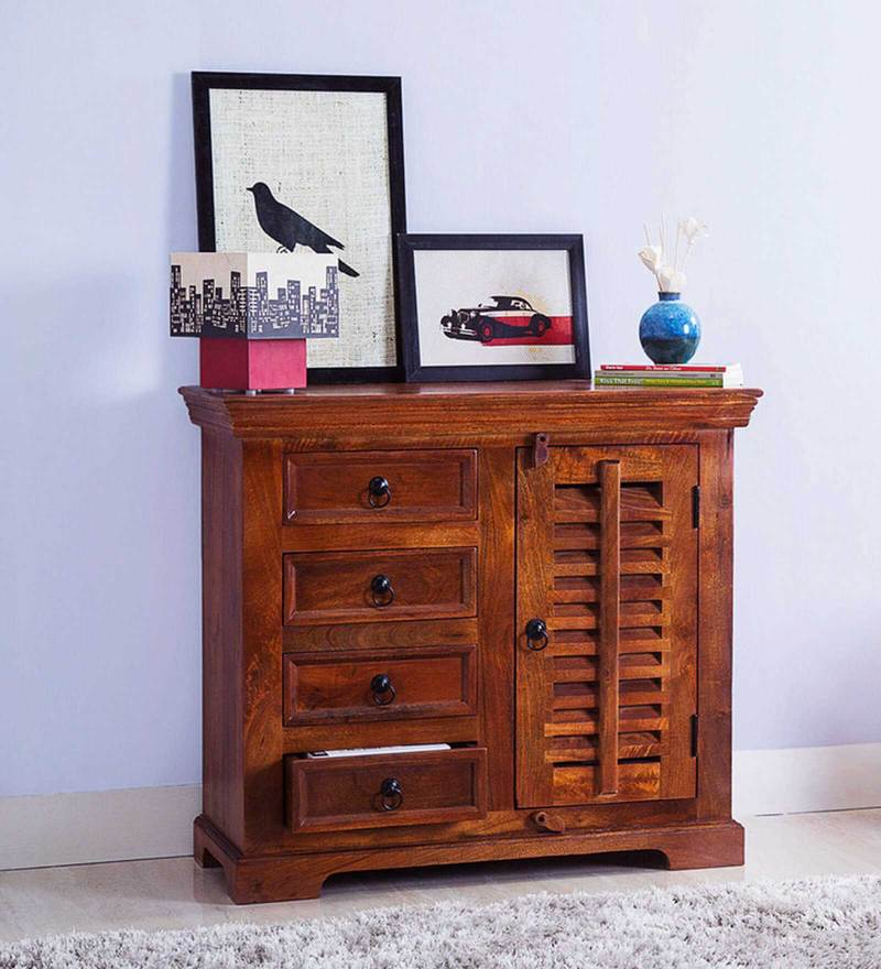 Radcliffe Sideboard in Honey Oak Finish by Amberville