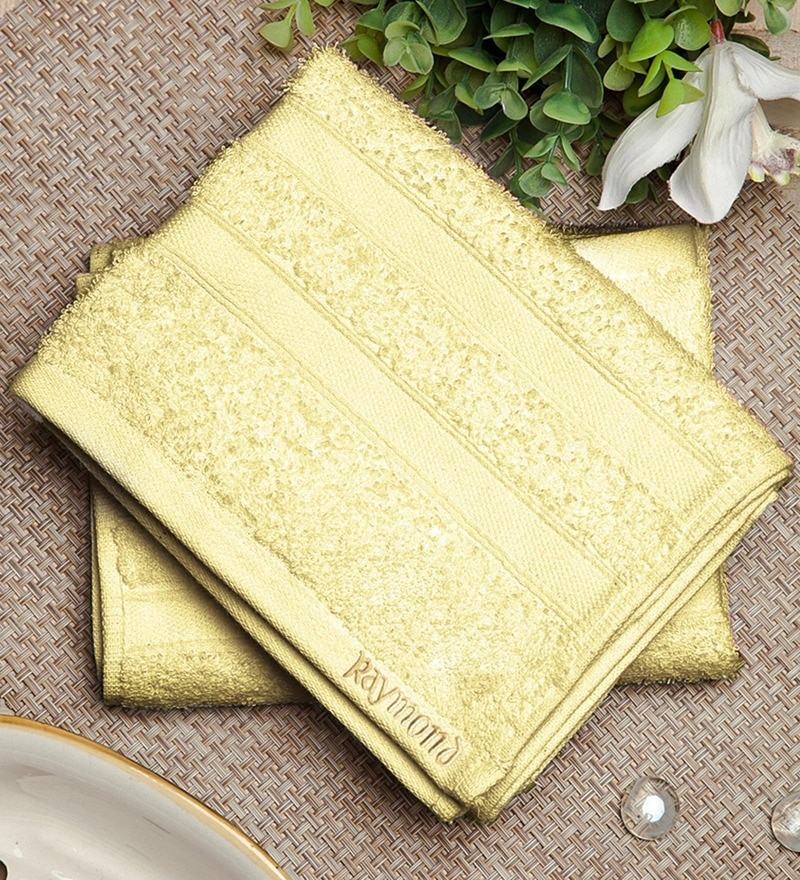 Bluebell Plus Off White Cotton Towel by Raymond Home