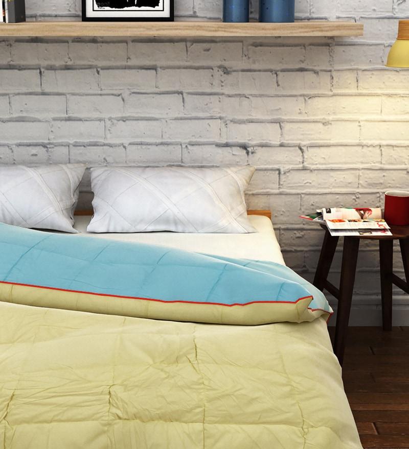Lemon Cotton Single Size Quilt by Raymond Home