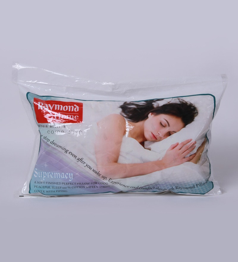 White Satin Supermacy Pillow Insert - Set of 2 by Raymond Home