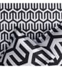 Rago Black Poly Cotton Queen Size Bedsheet - Set of 3