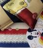 Rago Kids Mickey Single Bedsheet with 1 Pillow Case