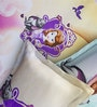 Rago Kids Sofia The First Double Bedsheet in Purple & White with 2 Pillow Covers