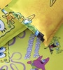 Rago Kids SpongeBob Poly Cotton Double Bedsheet with 2 Pillow Covers