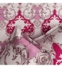 Pink Poly Cotton Queen Size Bedsheet - Set of 3 by Rago