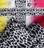 Pop Pink & Yellow Cotton Floral Bed Sheet (with Pillow Covers) by Rago