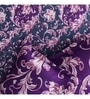 Purple Poly Cotton Queen Size Bedsheet - Set of 3 by Rago