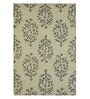 Raj Overseas Multicolour Wool 60 x 96 Inch Dotted Thrones Handtufted Carpet