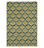 Raj Overseas Multicolour Wool 60 x 96 Inch Multi Ogee Handtufted Carpet