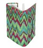Rajrang Green Paper & Cotton Classic Chevron Diary