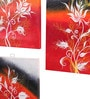 Rang Rage Canvas 16 x 2 x 20 Inch Botanic Love Framed Art Panels - Set of 3