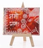 Canvas 8 x 1 x 6 Inch Classy Mystic Ganesha Stretched Framed Painting with Easel Stand by Rang Rage
