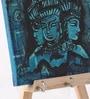 Rang Rage Multicolour Canvas The Blue Ajanta Decorative Key Holder