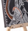 Rang Rage Multicolour Canvas The Majestic Shiva Key Holder