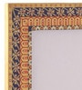 Multicolour Mango Wood 12 x 0.8 x 14.1 Inch Classic Mughal Hand Painted Photo Frame by Rang Rage