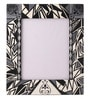 Multicolour Mango Wood 12 x 0.8 x 14.1 Inch Monochrome Classic Hand Painted Photo Frame by Rang Rage