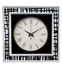 Rang Rage Multicolour Mango Wood Maze Square Wall Clock