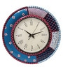 Multicolour MDF 16 Inch Round Fest Round Wall Clock by Rang Rage