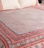 Multicolour Cotton King Size Bedsheet - Set of 3 by RangDesi