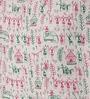 White Silk 16 x 16 Inch Bhagalpuri Hand Block Printed Cushion Cover by RangDesi