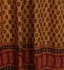 RangDesi Brown Cotton 84 x 48 Inch Door Curtain - Set of 2