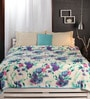 Raymond Home Blues Nature & Florals Cotton Queen Size Dohar