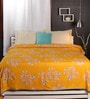 Raymond Home Browns Nature & Florals Cotton Queen Size Dohar