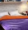 Orange Cotton Queen Size Quilt by Raymond Home