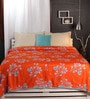 Raymond Home Oranges Nature & Florals Cotton Queen Size Dohar