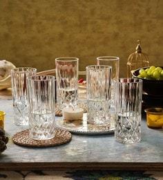 RCR Opera Crystal Glass 350 ML Highball Tumbler - Set Of 6