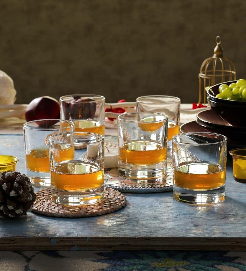 RCR Tocai Crystal Glass 280 ML Whisky Glasses - Set of 6