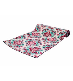 Reinvention Factory Multicolour Table Runner With Palampore Design